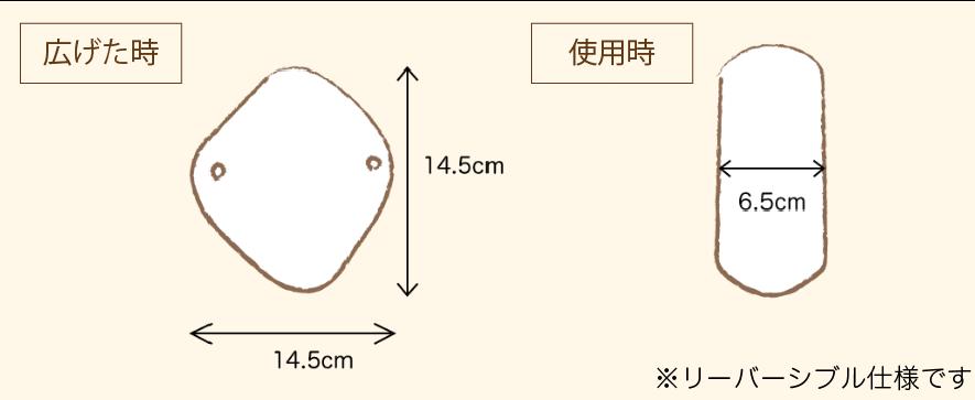 ダイヤライナーのサイズ
