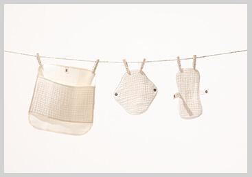 布ナプキン洗濯イメージ